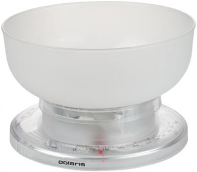 Кухонные весы Polaris PKS0305 White - вид спереди