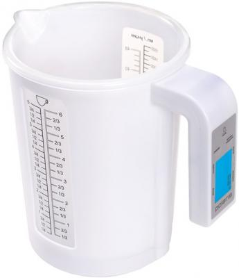 Кухонные весы Polaris PKS0521DL (White) - вполоборота