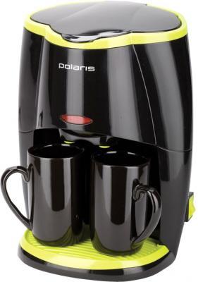 Капельная кофеварка Polaris PCM0210 (Black-Green) - общий вид
