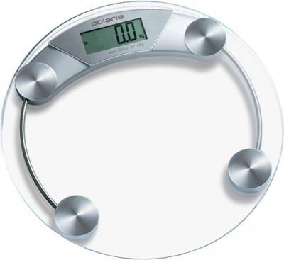 Напольные весы электронные Polaris PWS1514DG Silver - общий вид