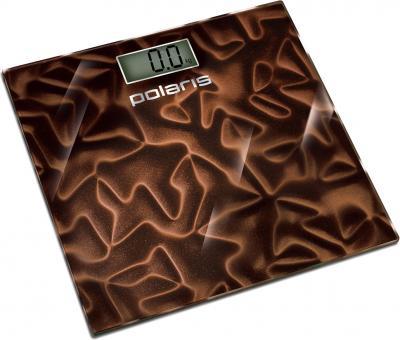 Напольные весы электронные Polaris PWS1528DG Brown - общий вид