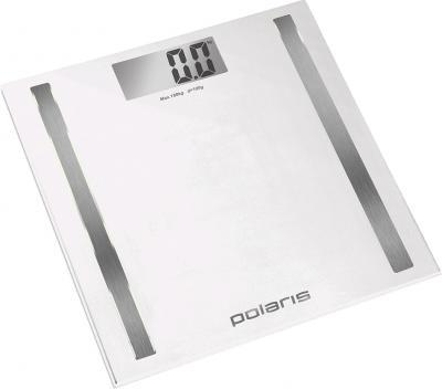 Напольные весы электронные Polaris PWS1827D White - общий вид
