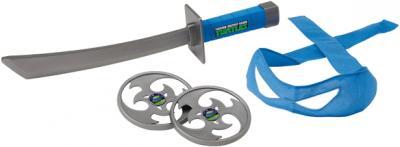 """Игровой набор Playmates Toys """"Черепашки Ниндзя"""" Боевое снаряжение Леонардо (92030/92031) - общий вид"""