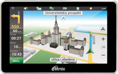GPS навигатор Ritmix RGP-580 - общий вид
