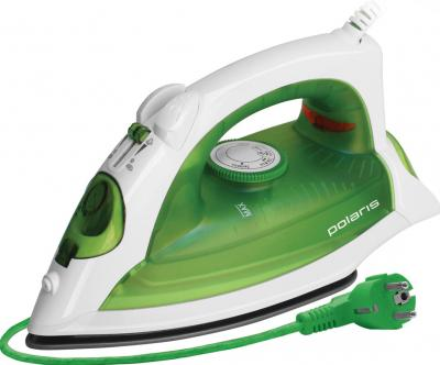 Утюг Polaris PIR2257 GraphiTECH (White-Green) - общий вид