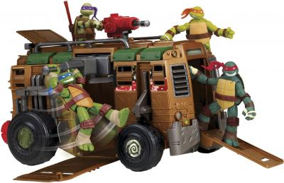 """Игровой набор Playmates Toys """"Черепашки Ниндзя"""" Транспортное снаряжение (94010) - черепашки в комплект не входят"""