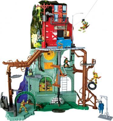 Большой игровой набор Playmates Toys Черепашки Ниндзя (95010) - общий вид