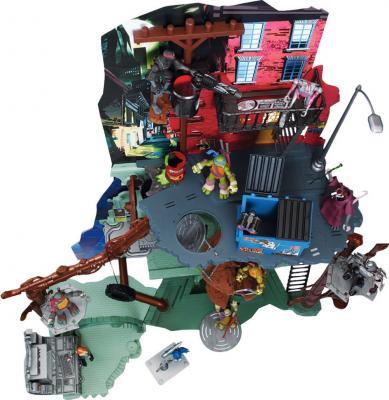 Большой игровой набор Playmates Toys Черепашки Ниндзя (95010) - вид сверху