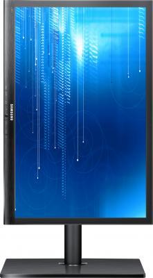 Монитор Samsung S24A650DE (LS24A650DE/CI) - фронтальный вид (поворот)