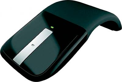 Мышь Microsoft ARC Touch Mouse USB Black (RVF-00056) - общий вид