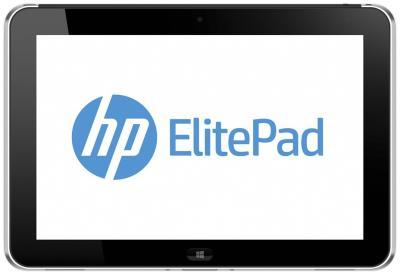 Планшет HP ElitePad 900 G1 64GB 3G (D4T10AW) -  фронтальный вид