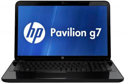 Ноутбук HP Pavilion g7-2362er (D2Z02EA) - фронтальный вид