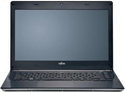 Ноутбук Fujitsu LIFEBOOK UH552 (UH552MPZB5RU) - фронтальный вид