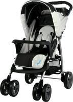 Детская прогулочная коляска Caretero Monaco (Black) -
