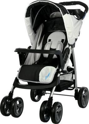 Детская прогулочная коляска Caretero Monaco (Black) - общий вид