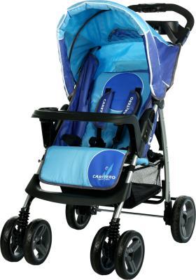 Детская прогулочная коляска Caretero Monaco (Blue) - общий вид
