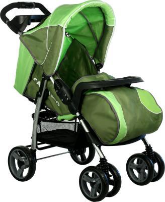 Детская прогулочная коляска Caretero Monaco (Green) - общий вид