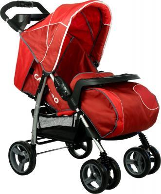 Детская прогулочная коляска Caretero Monaco (Red) - общий вид