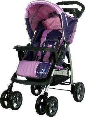 Детская прогулочная коляска Caretero Monaco (Rose) - общий вид