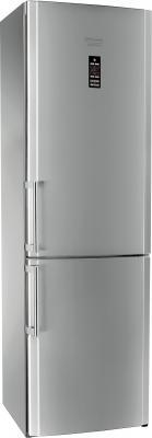 Холодильник с морозильником Hotpoint HBD 1202.3 X NF H O3 - общий вид