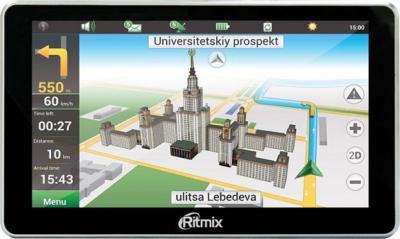 GPS навигатор Ritmix RGP-680 - общий вид