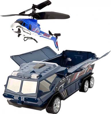 Игрушка на пульте управления Silverlit Броневик с вертолетом (85852) - общий вид