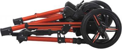 Детская универсальная коляска Bebetto Solaris Red (V1K/ALU/RC) - книга