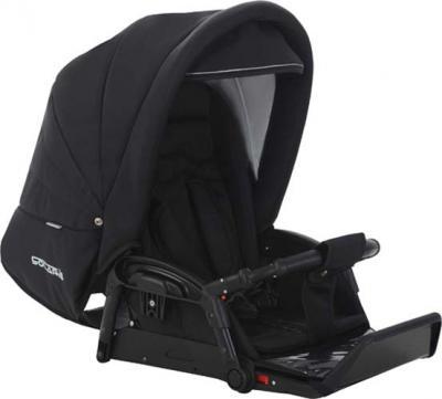 Детская универсальная коляска Bebetto Solaris Red (V1K/ALU/RC) - посадочное место