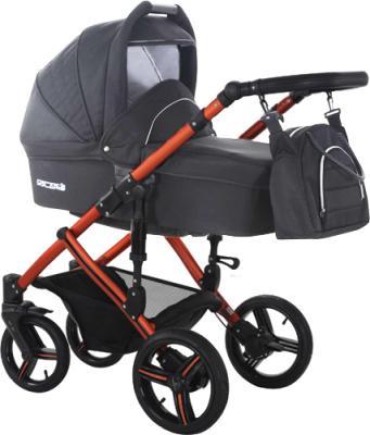 Детская универсальная коляска Bebetto Solaris Red (V1K/ALU/RC) - общий вид