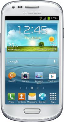 Смартфон Samsung i8190 Galaxy S III mini White - общий вид