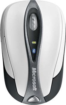 Мышь Microsoft Bluetooth Notebook Mouse 5000 (69R-00015) - фронтальный вид