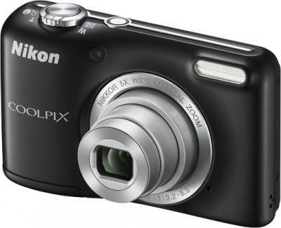 Компактный фотоаппарат Nikon Coolpix L27 Black - общий вид