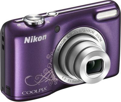Компактный фотоаппарат Nikon Coolpix L27 Purple - общий вид