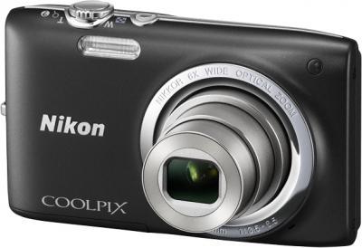 Компактный фотоаппарат Nikon Coolpix S2700 Black - общий вид