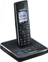 Беспроводной телефон Panasonic KX-TG8561  (черный) - вид сбоку