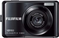 Компактный фотоаппарат Fujifilm FinePix C20 Black - вид спереди