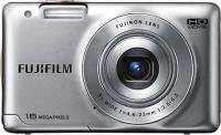 Компактный фотоаппарат Fujifilm FinePix JX500 (Silver) - общий вид