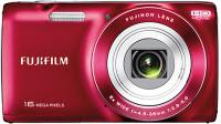 Компактный фотоаппарат Fujifilm FinePix JZ250 (Red) - вид спереди