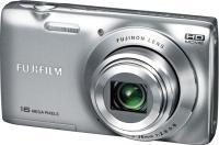 Компактный фотоаппарат Fujifilm FinePix JZ250 (Silver) - общий вид