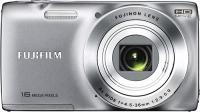 Компактный фотоаппарат Fujifilm FinePix JZ250 (Silver) - вид спереди