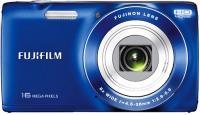 Компактный фотоаппарат Fujifilm FinePix JZ250 (Blue) - вид спереди
