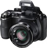 Компактный фотоаппарат Fujifilm FinePix S4500 (Black) - общий вид