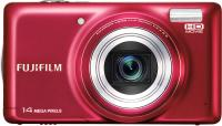 Компактный фотоаппарат Fujifilm FinePix T350 (Red) - вид спереди