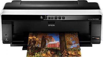 Принтер Epson Stylus Photo R2000 - фронтальный вид