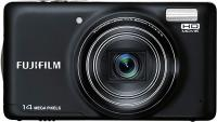 Компактный фотоаппарат Fujifilm FinePix T350 (Black) - вид спереди