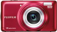 Компактный фотоаппарат Fujifilm FinePix T400 (Red) - вид спереди
