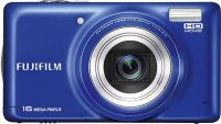Компактный фотоаппарат Fujifilm FinePix T400 (Blue) - вид спереди