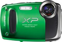 Компактный фотоаппарат Fujifilm FinePix XP50 (Green) - вид спереди