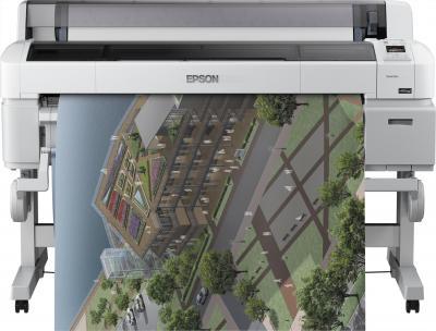 Плоттер Epson SureColor SC-T7000 - фронтальный вид