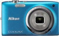 Компактный фотоаппарат Nikon Coolpix S2700 (Blue) - вид спереди